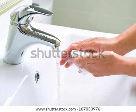 Wash Hands. Cleaning Hands. Hygiene