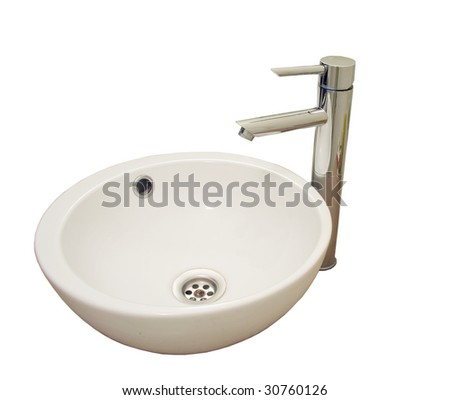 washbasin and tap