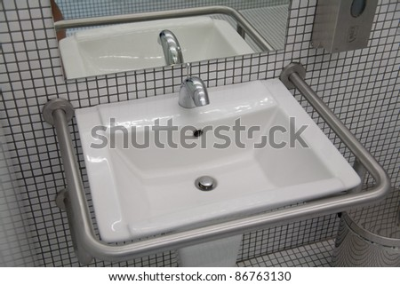 Washbasin  for People with disabilities