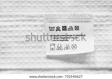 Free Photos Washing Instruction Symbols Avopix
