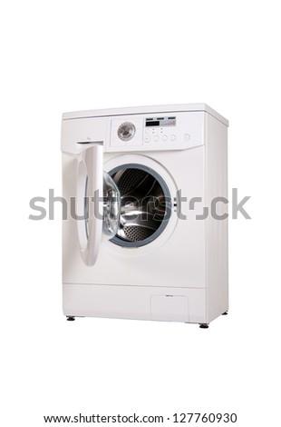 washing machine . isolate