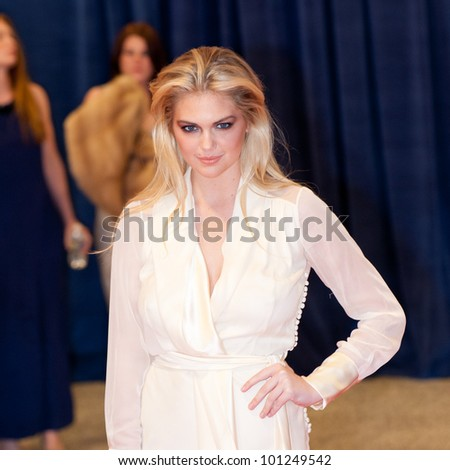 WASHINGTON - APRIL 28: Model Kate Upton arrives at the White House Correspondents Dinner April 28, 2012 in Washington, D.C.
