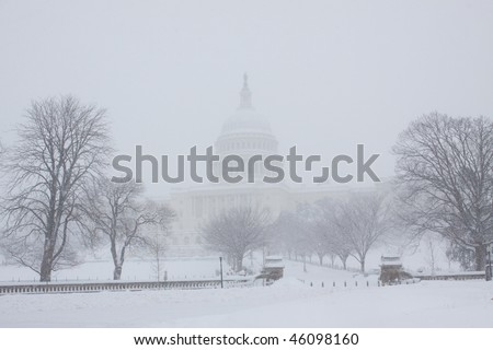 Washington, DC blizzard
