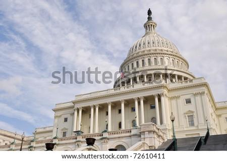 Washington DC Capitol Hill Facade