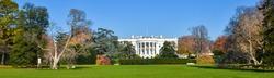 Washington DC in autumn - White House panorama