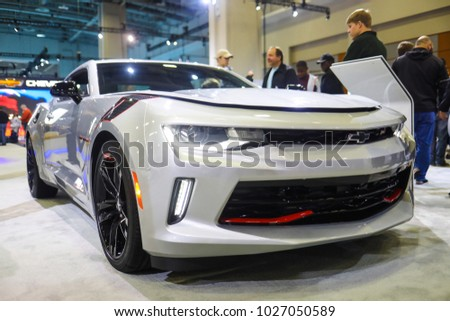 Washington DC January A Luxury Vehicle On Display At - 2018 car show dc