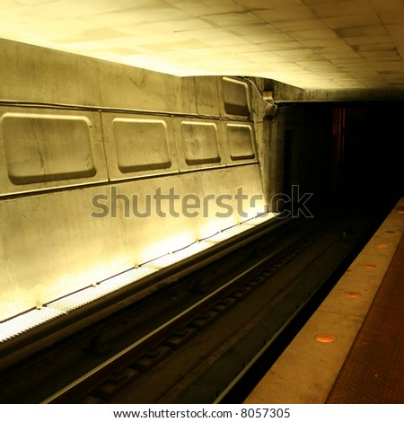 Washington DC Metro subway station