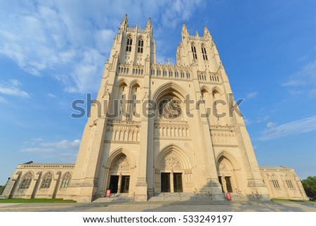 Washington DC - National Cathedral Building