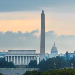 Washington DC - National Mall at sunrise