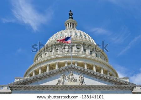 Washington DC, US Capitol Building dome