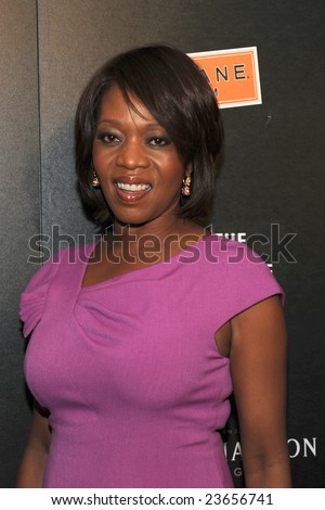 WASHINGTON - JANUARY 19: Actress Alfre Woodard arrives for the Creative Coalition dinner on behalf of the presidential inauguration on January 19, 2009 in Washington.