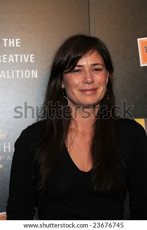 WASHINGTON - JANUARY 19: Actress Maura Tierney arrives for the Creative Coalition dinner on behalf of the presidential inauguration on January 19, 2009 in Washington.