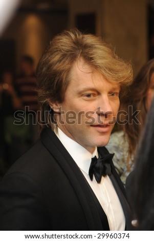 WASHINGTON - MAY 9: Jon Bon Jovi arrives at the White House Correspondent's Dinner on May 9, 2009 in Washington, DC.