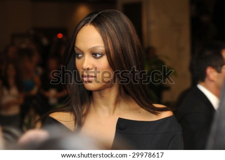 WASHINGTON - MAY 9: Tyra Banks arrives at the White House Correspondents Dinner on May 9, 2009 in Washington, DC.