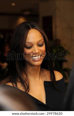 WASHINGTON - MAY 9: Tyra Banks arrives at the White House Correspondents Dinner on May 9, 2009 in Washington, DC.