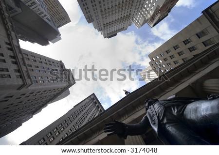 Washington statue, New York