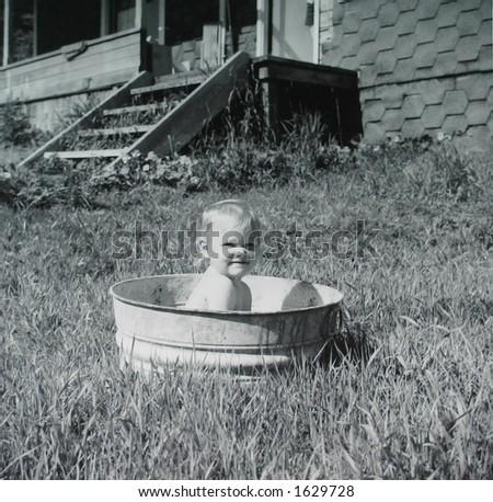Washtub Baby