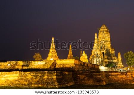 Wat Chaiwatthanaram, Ayutthaya - Thailand