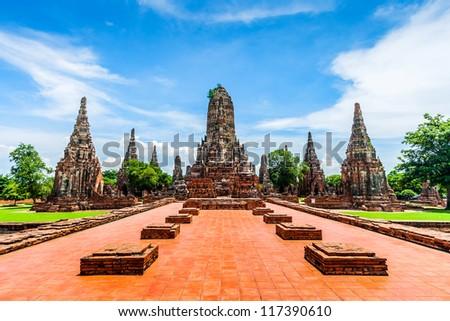Wat Chaiwatthanaram , Ayutthaya , Thailand in 2009
