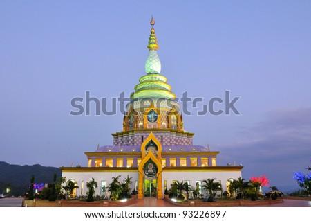 Wat Chedi Kaew Thaton, Chiang Mai,Thailand
