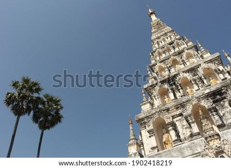 Wat Chedi Liem Temple, Wiang Kum Kam, Chiang Mai, Thailand Stok fotoğraf ©