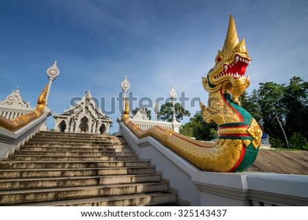 Wat kaew korawaram temple.Beautiful place located in Krabi, Thailand.