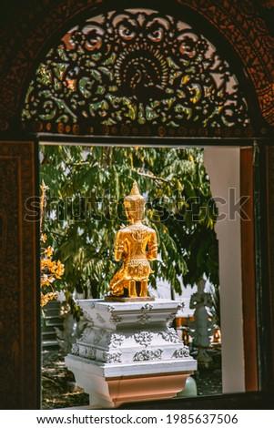 Wat Pa Dara Phirom Phra Aram Luang in Mae Rim, Chiang Mai province, Thailand Stock fotó ©