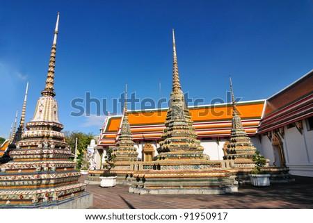 Wat Pho temple,Bangkok, Thailand