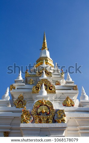 Wat Phra Borommathat Chaiya (Temple in Thailand).Locate Moo.3, Tambon Wiang, Amphoe Chaiya, Surat Thani province.