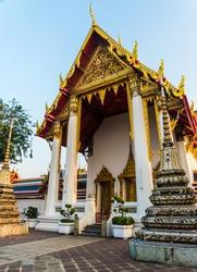 Wat Phra Kaew or Wat Phra Si Rattana Satsadaram. Wat Phra Kaew is the famous place in Thailand.  Bangkok travel