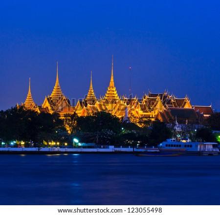 Wat Phra Kaew Royal Palace in Bangkok, Thailand