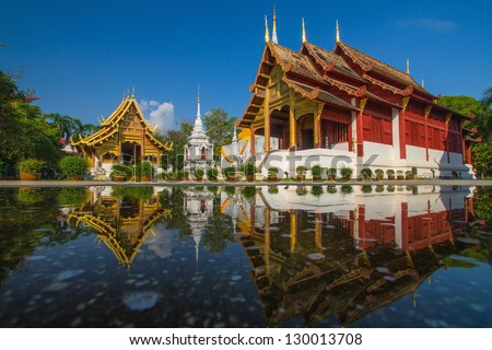 Wat Phra Sing Chiang Mai Thailand
