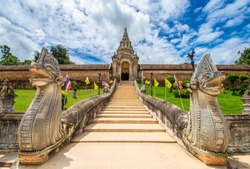 Wat Phra That Lampang Luang is a Lanna style Buddhist temple. It is a favorite of tourists located in Lampang Province, Thailand.