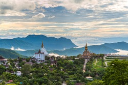 Wat Phra That Pha Son Kaew Temple, Khao Kho,Phetchabun,Thailand