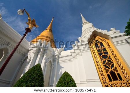 Wat Rajabopit, Royal Tombs and temple in Thailand.