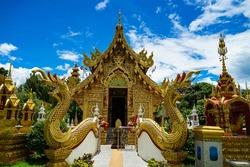 Wat Sang Kaew Photiyan is located at Morn Sang Kaew mountain Mae Suay district, Chiang Rai