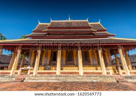 Wat Si Saket, Vientiane, Laos, Indochina, Southeast Asia, Asia.