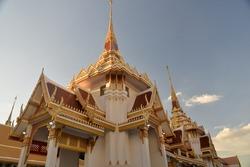 Wat That Thong Buddhist Temple in Bangkok, Thailand, Asia