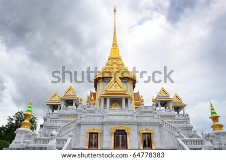 Wat Trimitr is the old temple in bangkok. it's located near china town.