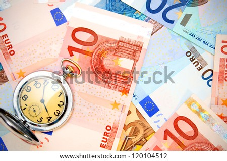 Watch for euro banknotes.