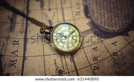 Free photos vintage antique pocket watch on old map background watch necklace and nautical vintage equipment on old world map 631440890 gumiabroncs Gallery