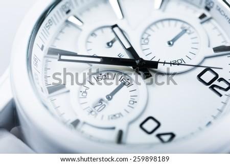 Watch, swiss, clock.