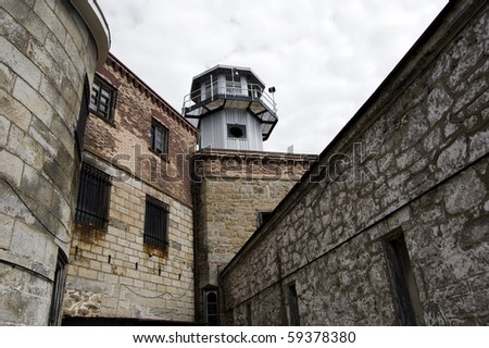 watchtower in old prison