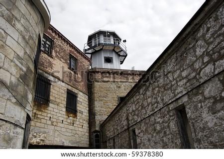 watchtower in old prison