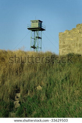 Watchtower on the top of the hill