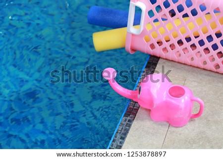 Water aerobic equipment.