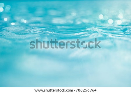 Water and bokeh light in the pool for background - Shutterstock ID 788256964