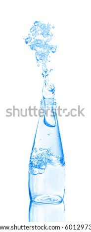 water being poured from a bottle