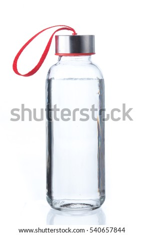 Water bottle isolated on white #540657844