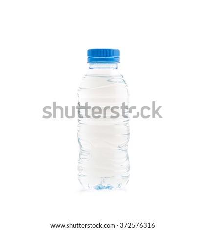 water bottle on white background #372576316